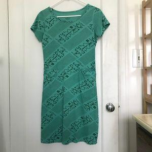 Svaha Arecibo Message Sheath Dress